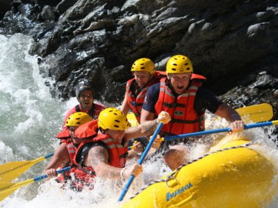 Rafting trip level III and IV difficulty Huatulco