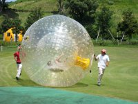 We will always be providing support in the zorbing