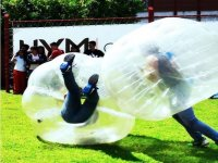 Live the experience of performing zorbing
