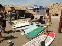 Iniciando clases de surf
