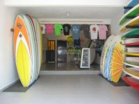 Colorful surfboards and products