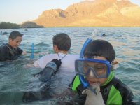 Snorkeling for children