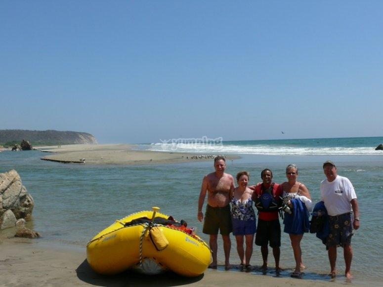 Rafting Huatulco 2