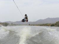 Ski wakeboard jump