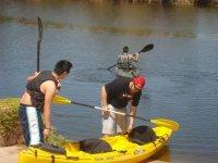 Kayaking activity