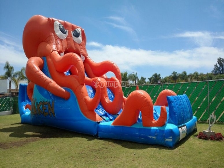 Inflatable games for children
