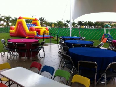 Kids party Saturday & Sunday afternoon 70 guests