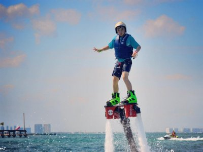Flyboard, 30 minutes in Cancún