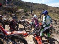 Learning motocross