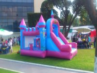 inflatable logo for princesses of the house