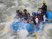Al limite en el rio