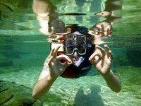 Snorkel en reserva natural
