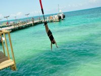 Bungee over the sea