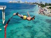 Bungee in Cancun