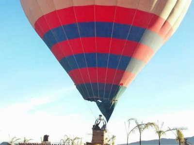 Private balloon flight for 6 people Mexico City
