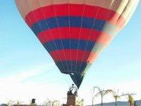 Balloon flight weekend with toast