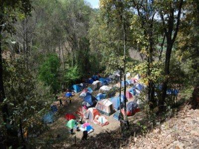 Camping tienda campaña todo Incluido Mil Cumbres