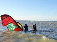 Kitesurfing lessons