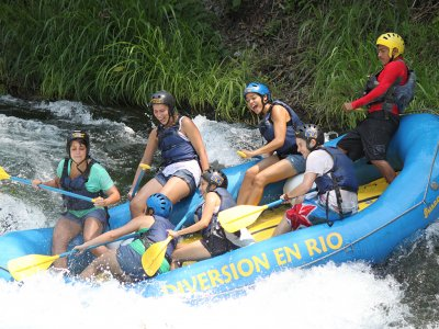 Rafting + Rappel + Lodge + Meal