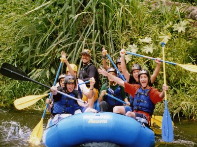 Rafting + Rappel + Zip Line + Mountain bike