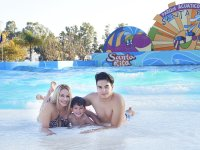 Family wave pool