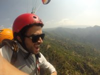 Get excited with the paraglider