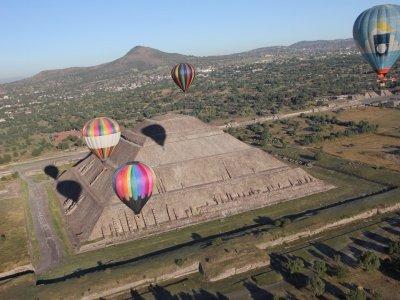 Globos Aerostáticos Teotihuacan