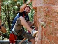 Start climbing