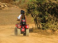 Quads route between jungle and beach, Huatulco
