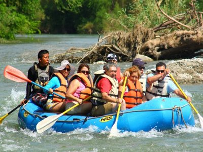 White water rafting in Las Hamacas, Huatulco