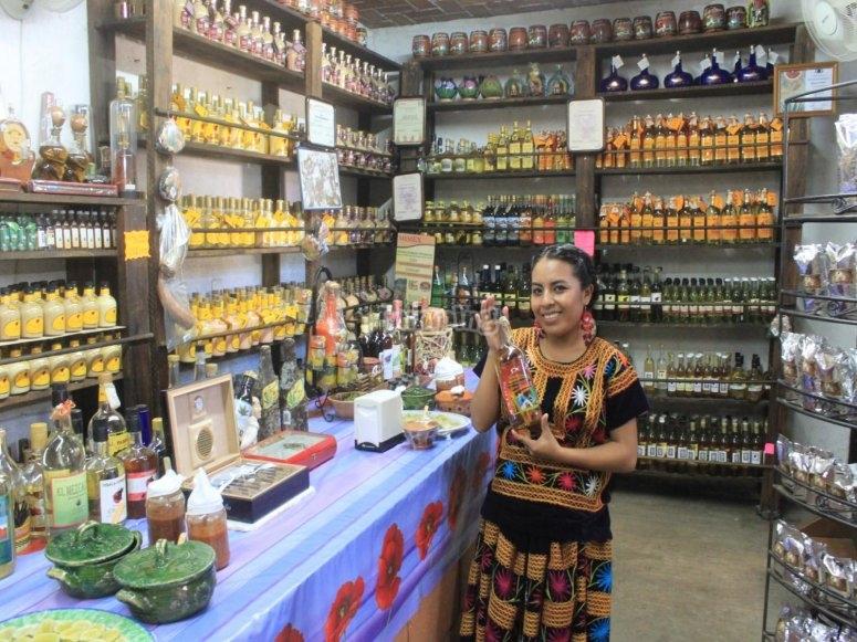 Enjoy the mezcal of Oaxaca