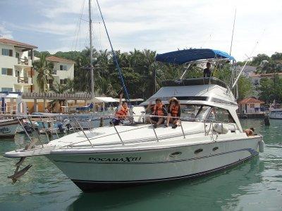 Pesca deportiva en yate 5 horas en Bahia  Huatulco