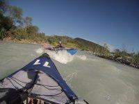 Kayak in the Pilon River