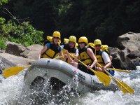 Raft down