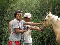 Visita con caballo