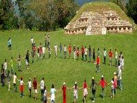 Walk in archeological zones