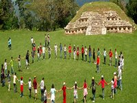 Walk in archaeological zones