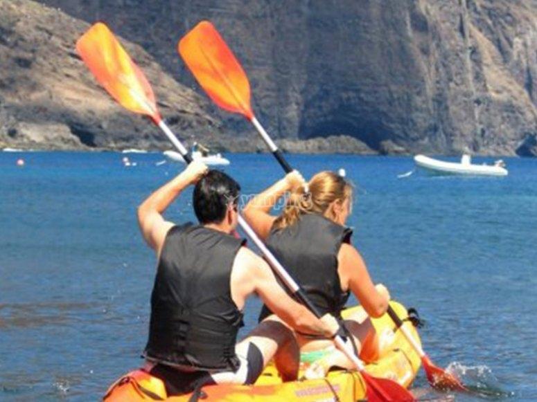 Kayaking in Mulegé