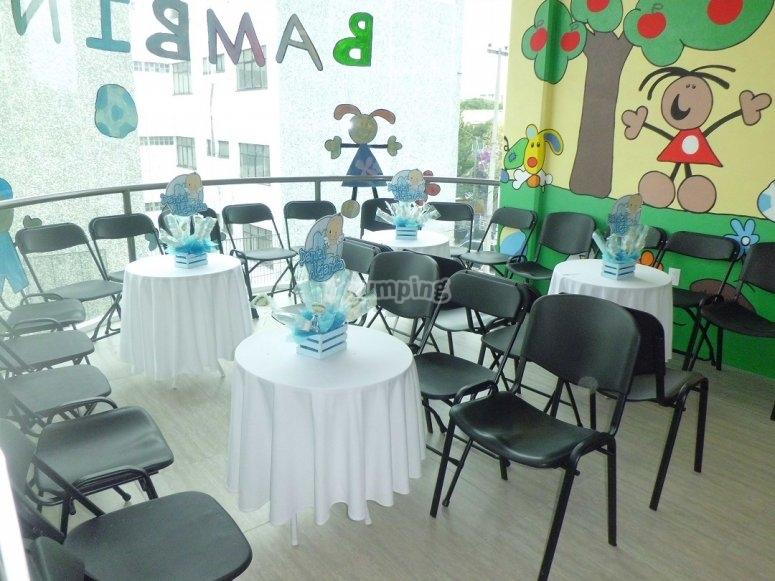 centros de mesas decoradas