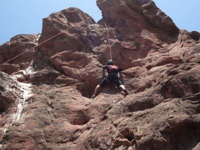 Climbing in Cerro de la Virgen