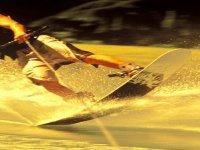 Volando sobre las aguas