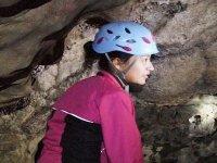 Dentro de la cueva