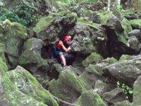 Entrada a la gruta