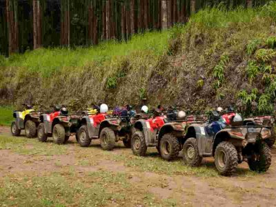 3h quad tour in Sierra de Santiago