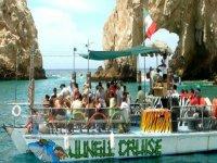 El barco Jungle Cruise