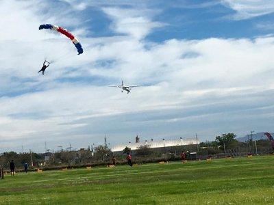 Helicópteros Pulsar CAAP TYST Puebla Paracaidismo