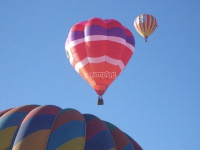 Vuela en globo