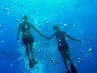 Snorkel in pairs