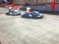 At full speed