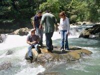 Waterfalls walk